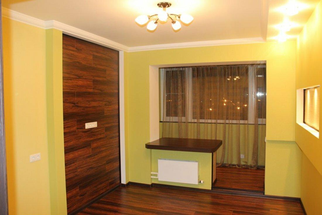 Об'єднання балкона з кімнатою: варіанти, узгодження опалення.